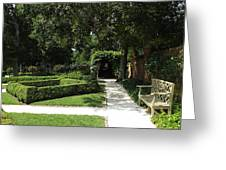 The Govenor's Gardens Greeting Card