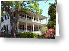 The Governors House Inn Greeting Card