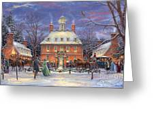 The Governor's Party Greeting Card by Chuck Pinson