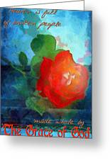 The Grace Of God Greeting Card