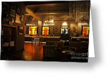 The Grand Cafe Southampton Greeting Card