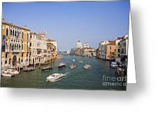 The Grand Canal, Venice Greeting Card