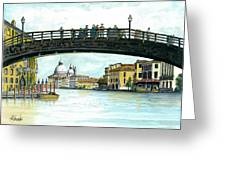 The Grand Canal Venice Italy Greeting Card