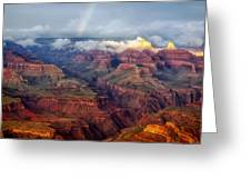 The Grand Canyon After The Storm Greeting Card