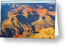 The Grand Canyon From Outer Space Greeting Card
