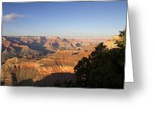 The Grand Canyon Towards Sunset Greeting Card