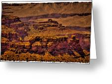 The Grand Canyon Vintage Americana Viii Greeting Card