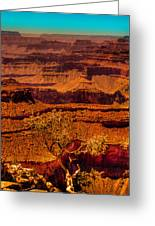 The Grand Canyon X Greeting Card