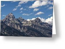 The Grand Tetons - Grand Teton National Park Wyoming Greeting Card