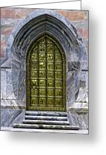 The Great Brass Door					 Greeting Card