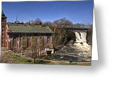 The Great Falls In Paterson Greeting Card