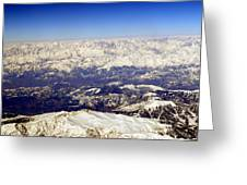 The Great Himalayas- Viator's Agonism Greeting Card