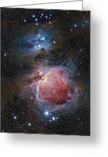 The Great Orion Nebula Greeting Card