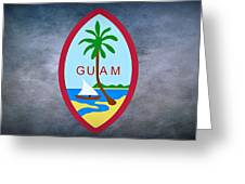 The Great Seal Of Guam Territory Of Usa  Greeting Card