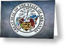 The Great Seal Of The State Of Arkansas Greeting Card