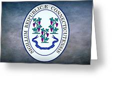 The Great Seal Of The State Of Connecticut Greeting Card