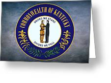The Great Seal Of The State Of Kentucky  Greeting Card
