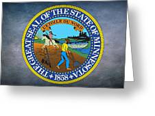 The Great Seal Of The State Of Minnesota Greeting Card