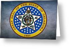 The Great Seal Of The State Of Oklahoma Greeting Card