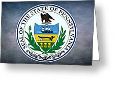 The Great Seal Of The State Of Pennsylvania  Greeting Card