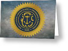 The Great Seal Of The State Of Rhode Island Greeting Card