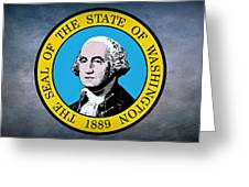 The Great Seal Of The State Of Washington Greeting Card