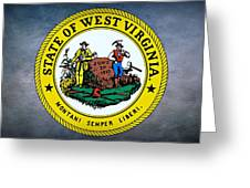 The Great Seal Of The State Of West Virginia Greeting Card