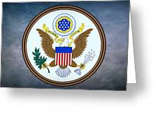 The Great Seal Of The United States  Greeting Card