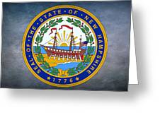 The Great Seal Of The State Of New Hampshire Greeting Card