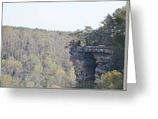 The Great Stone Door Grundy County Tennessee Greeting Card