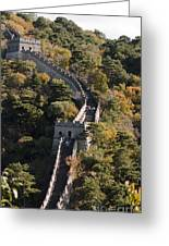 The Great Wall 629 Greeting Card
