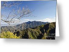 The Great Wall 834 Greeting Card