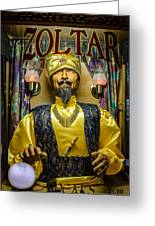 The Great Zoltar Greeting Card
