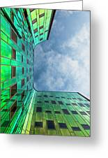 The Green Building Greeting Card