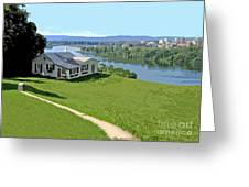 The Green Grass Of Home Greeting Card