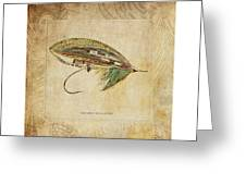 The Green Highlander Greeting Card