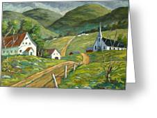 The Green Hills Greeting Card