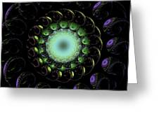 The Green Hole Greeting Card
