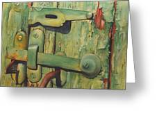 The Green Latch Greeting Card
