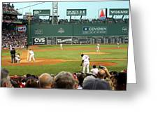 The Green Monster Greeting Card