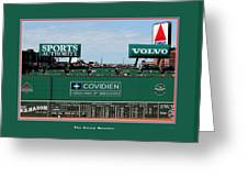 The Green Monster Fenway Park Greeting Card