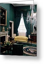 The Green Room In The White House Greeting Card