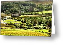 The Green Valley Of Poisoned Glen Greeting Card