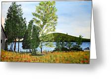 The Grey Camp Beech Hill Pond Greeting Card
