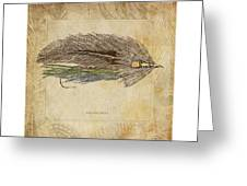 The Grey Ghost Greeting Card