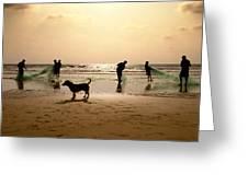 The Guardian Dog Greeting Card