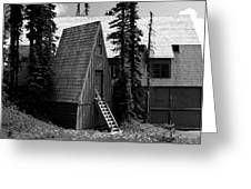 The Guide House At Paradise Greeting Card
