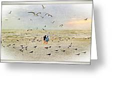 The Gulls Greeting Card