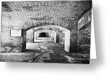The Gunrooms In Fort Jefferson Dry Tortugas National Park Florida Keys Usa Greeting Card