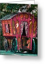 The Gypsy Caravan  Greeting Card